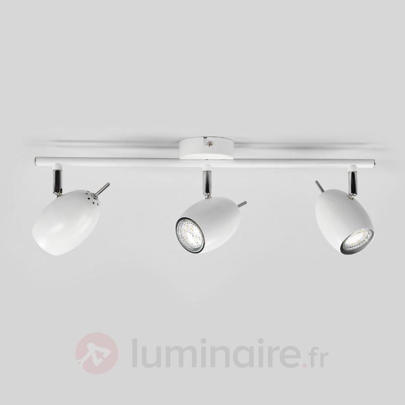 Plafonnier LED à 3 lampes Philippa - Spots et projecteurs LED