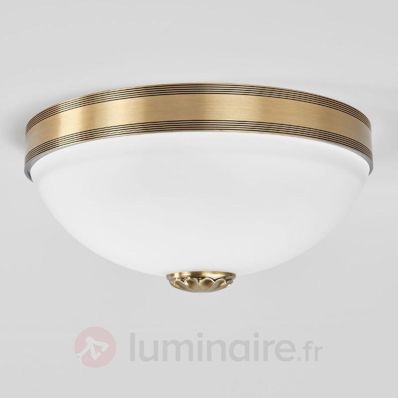 Magnifique plafonnier Impery de style ancien - Plafonniers laiton/dorés