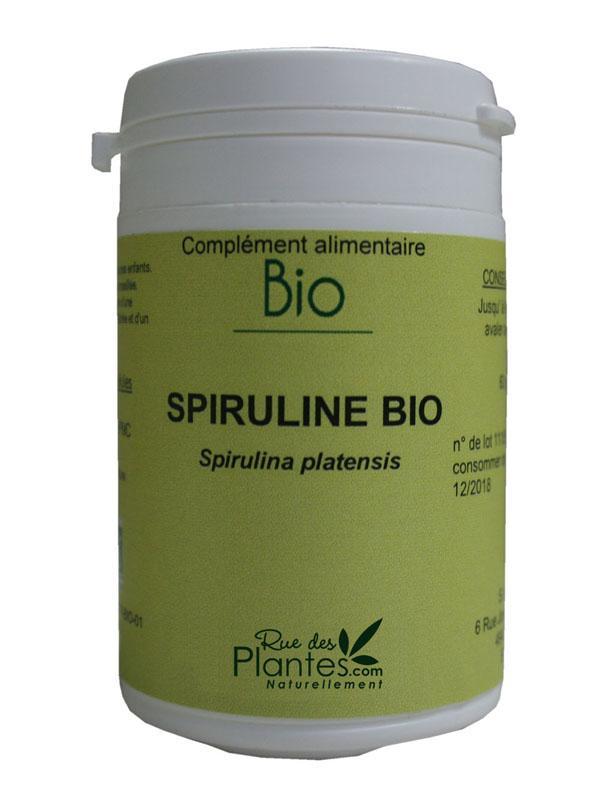 Gélules de spiruline bio