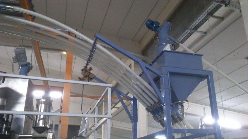convoyeur á spirale flexible - Convoyeur á spirale flexible pour le transport sans poussière de solides en vrac