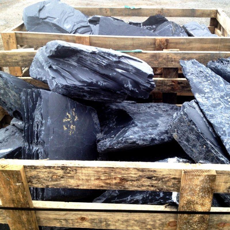 Monolithes - Bloc de Rocaille Ardoise au détail