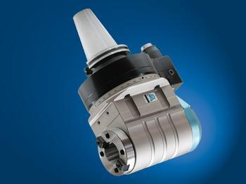 Input coolant from stop-block, and output through tool spindle. - TA26.40.D