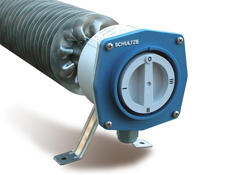 Finned Tube Heater w/ step-switch - Finned tubular heater, RiRo-S, 3-Step, Stainless steel, IP66/IP67