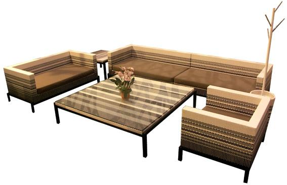 Home furniture rattan living room furniture