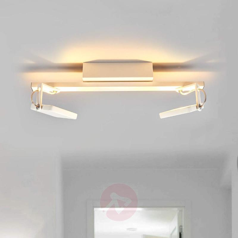 White ceiling spotlight Kena with dimmable LEDs - Ceiling Lights