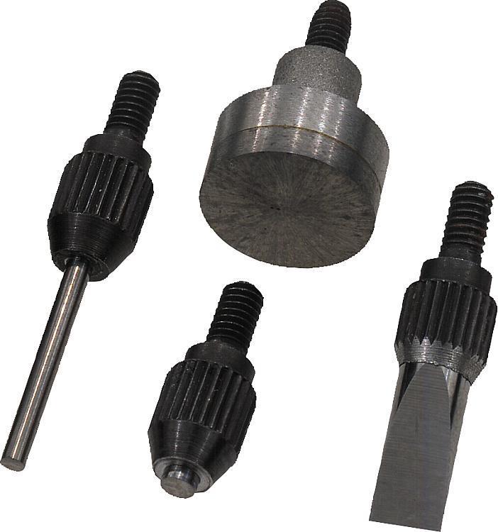 Touche avec insert en carbure Filetage M 2,5 - Eléments pour montage de contrôle