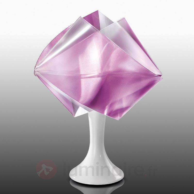 Lampe à poser de designer Gemmy Prisma, violet - Lampes à poser designs