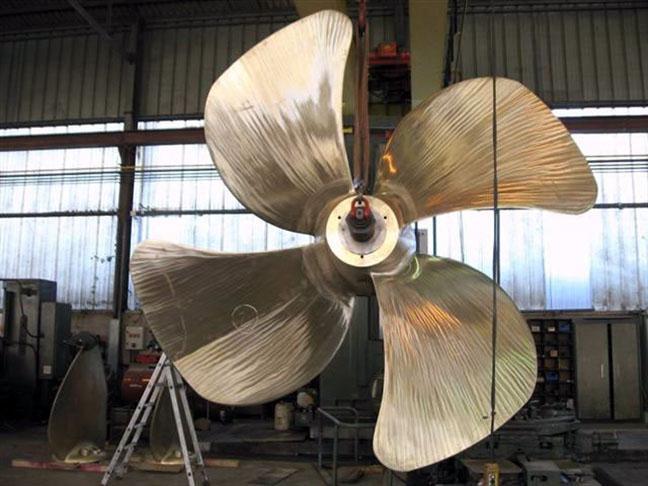 Propeller - Large Size aluminium bronze FPP Propellers