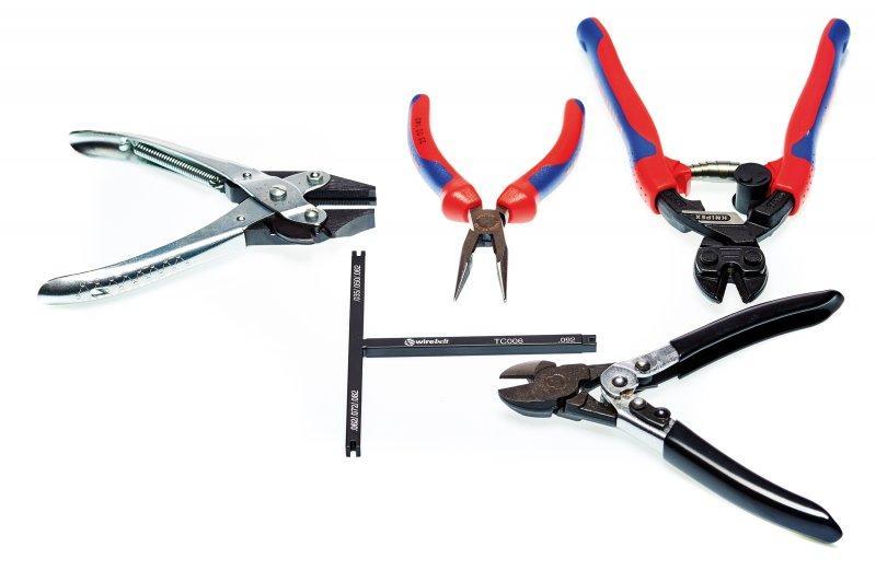 Conveyor Accessories: Belt maintenance tools - Belt maintenance tools for repair or installation of metal conveyor belts.