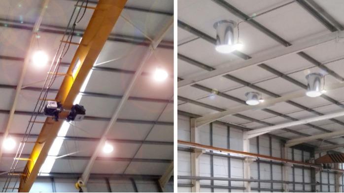 Iluminação LED Industrial Chatron -  dimerização inteligente - Iluminação LED Industrial com dimerização inteligente Chatron
