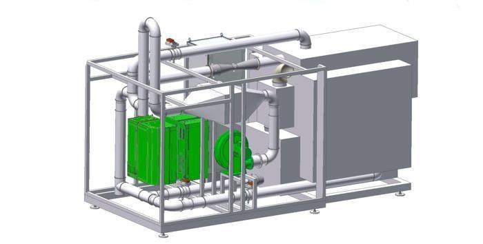 Climatic test system for decentralised ventilation units,... -