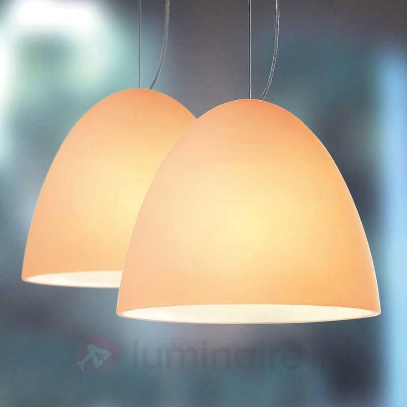 Suspension Bell couleur sable 2 lampes - Suspensions design