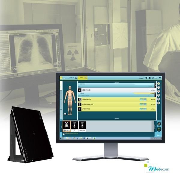 Med XRay - Capteur plan & Console d'acquisition - Capteurs de tailles 24*30 - 36*43 - 43*43