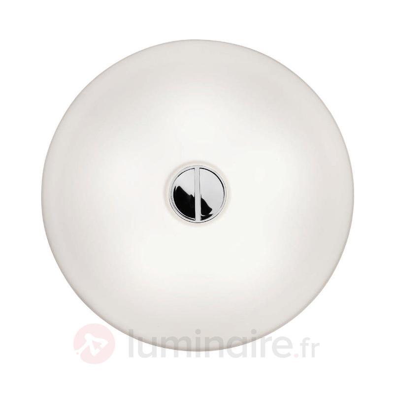Plafonnier profil fin BUTTON, IP44 - Salle de bains
