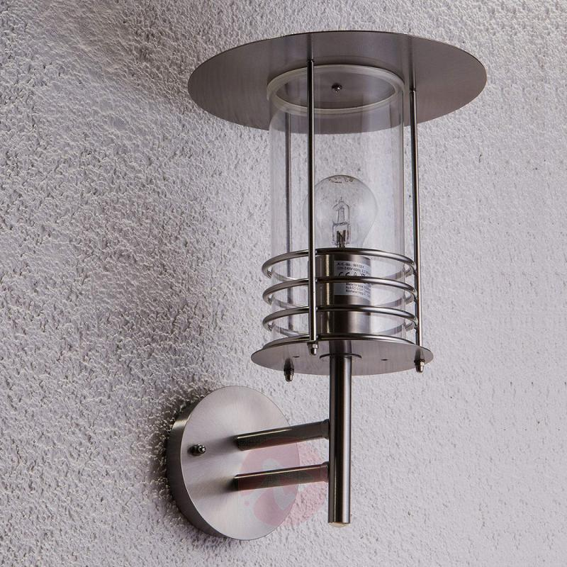 Stainless steel outdoor wall lamp Miko - stainless-steel-outdoor-wall-lights