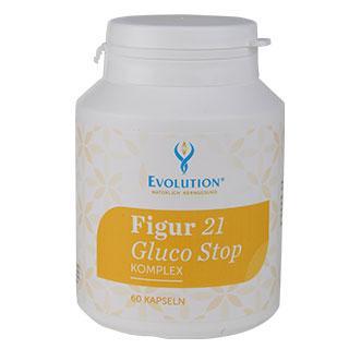 Figur 21 Gluco Stop 60 capsules - null