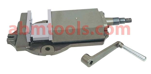Milling Machine Vice - Fixed Base - The milling vise is more rugged than the quick vise