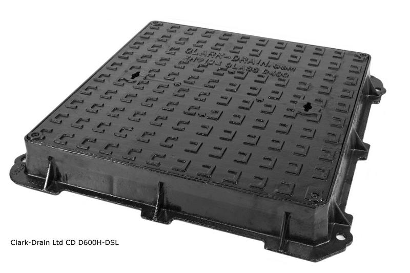 Manhole Cover - CD D600H-DSL