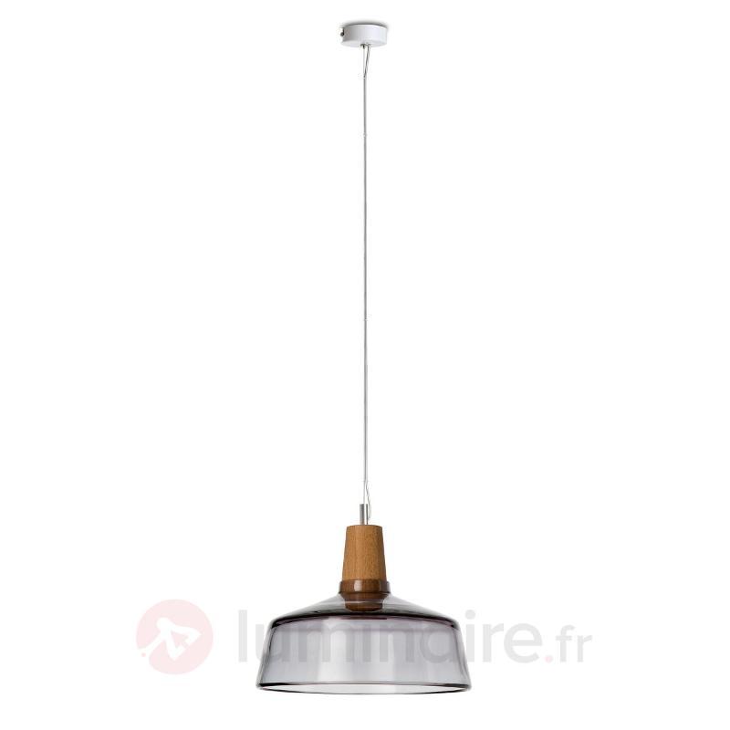 Industrial - suspension LED design, 26 cm - Suspensions design