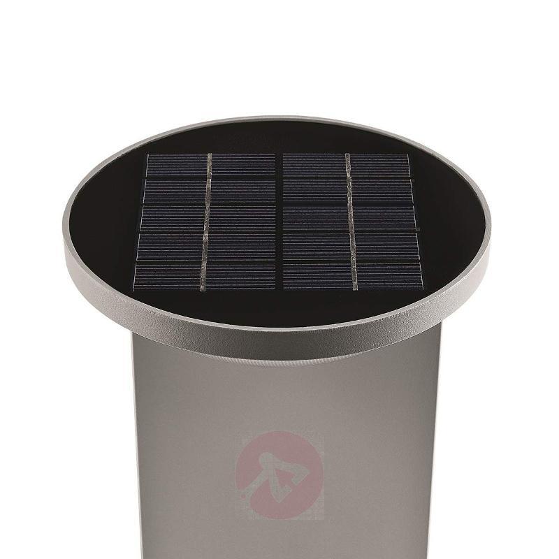 Dusk LED Pillar Light Solar Operation - Solar Lights