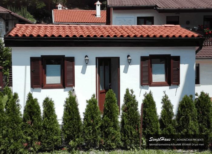 Mobilna hiša SimplHaus - nizko-energetski mobilni objekt