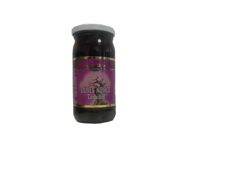 OLIVES NOIRES AU NATUREL (VARIETES COQUILLOS) / TINY... - Produits oléicoles