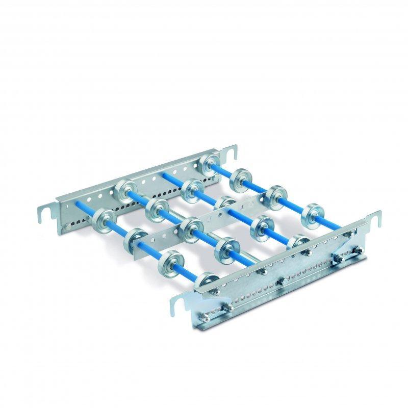 Röllchenbahnen bis 35 kg - Röllchenbahnen für leichte Lasten- mit Stahlröllchen