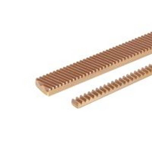 Crémaillère laiton Module 0,5 à Module 4 - Crémaillère laiton Module 0,5 à Module 4