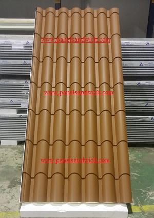 Panel Teja - Panel imitación teja
