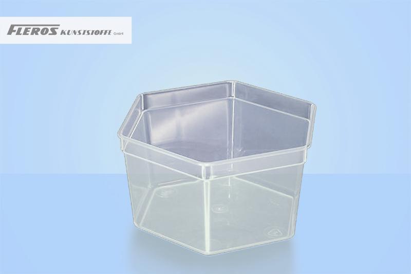 Rectangular bowls - SK 1.700 hexagonal bowl
