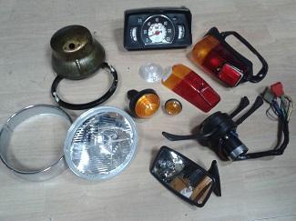 Auto parts are lighters and electronics - Auto parts are lighters and electronics