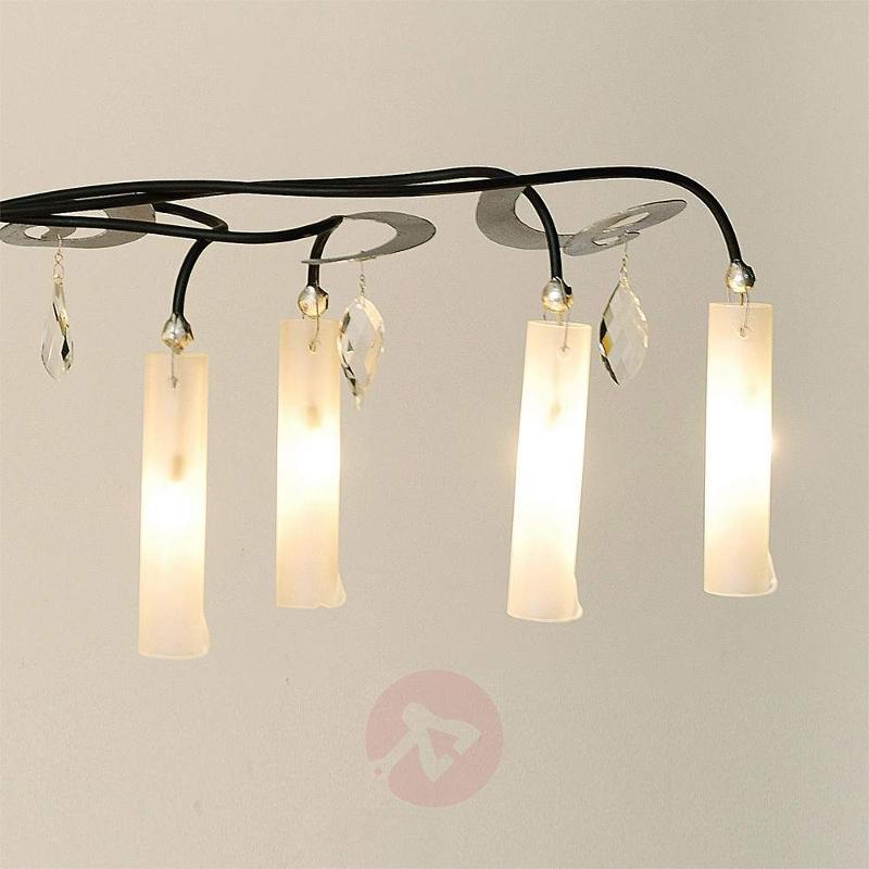 Eight-bulb pendant lamp Casino Oval - Pendant Lighting