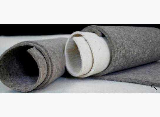 Войлок технический - в ассортименте, толщиной от 2,5 до 20 мм