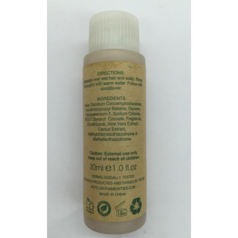 Shampoo 30ml 400pcs pack - GBGE ECO