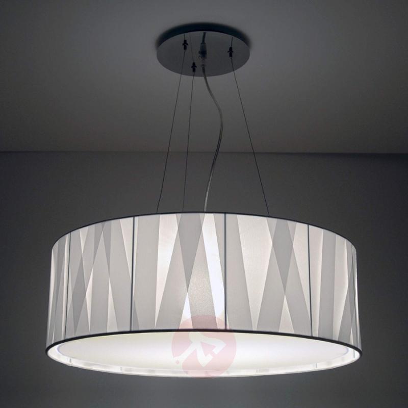 White designer hanging light Cross Lines S60 - design-hotel-lighting