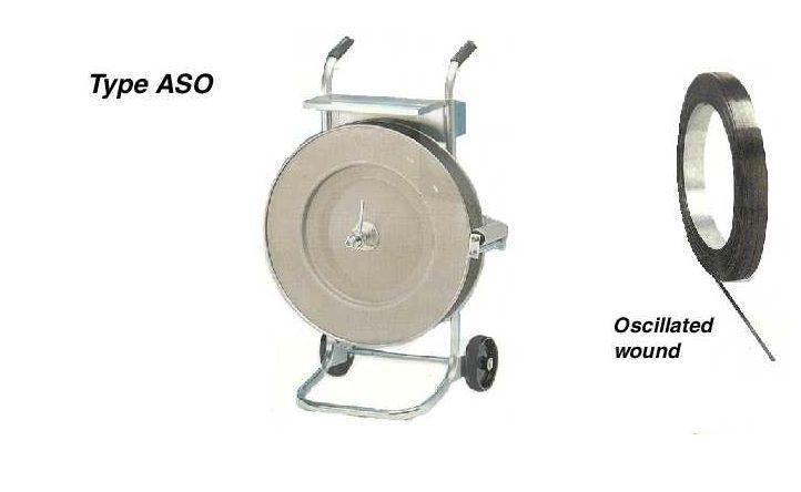 Afroller ASO - Staalbandomsnoering