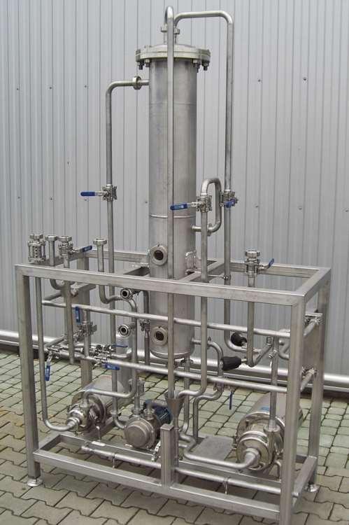 Stacje pozyskania aromatu - zespół urządzeń umożliwiających odzyskiwanie aromatów owocowych