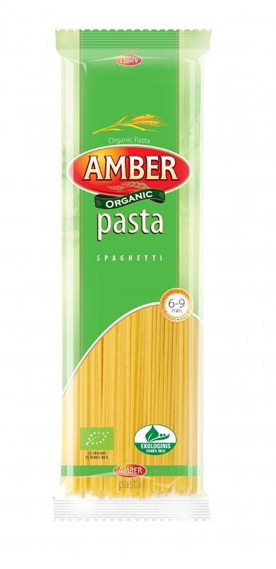 Organic pasta - Amber Spageti ECO