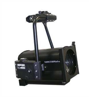 Halogen spotlights - LDR Nota PC 1000 / 1200 W plus MOTORIZED black
