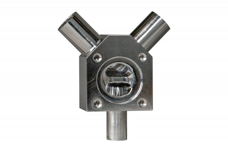 SISTO-CY aseptic Diaphragm valve, forged body, PN16 - Y-diaphragm valve,1.4435,butt welded/Clamp,enclosed diaphragm spirale supported