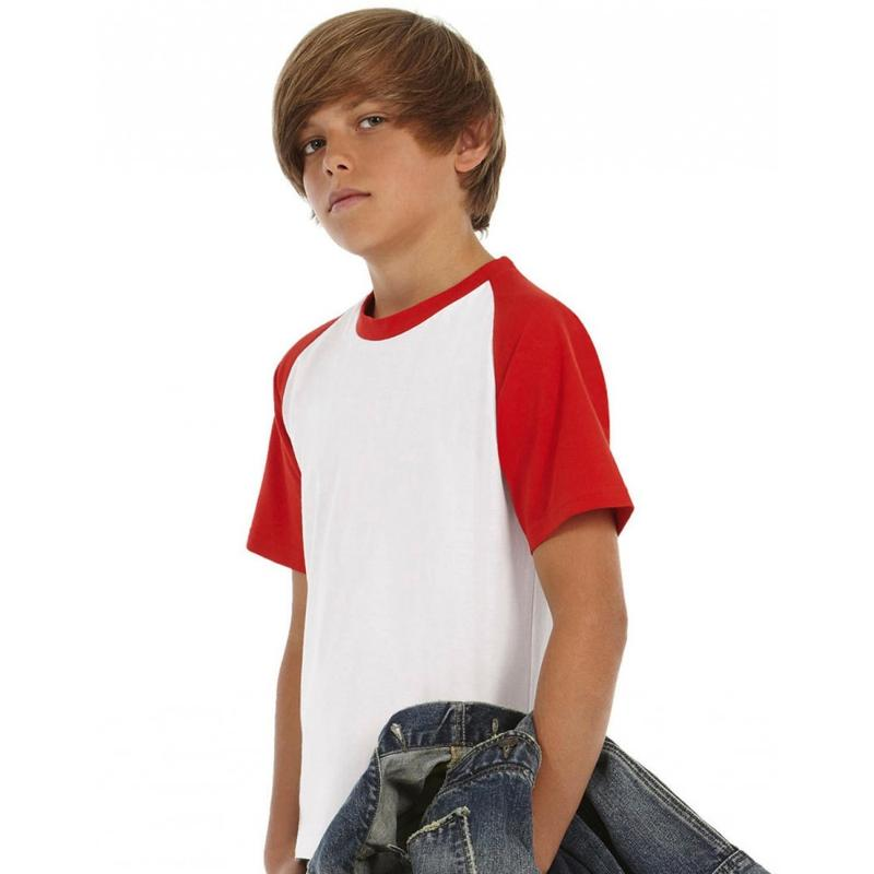 Tee-shirt enfant Baseball - Manches courtes