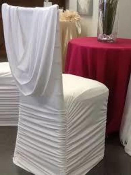 Fashionable Chair Covers - Latest Collection of Pleated Chair Covers