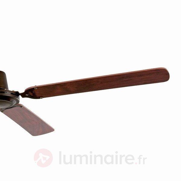 Ventilateur de plafond moderne MALVINAS, marron - Ventilateurs de plafond modernes