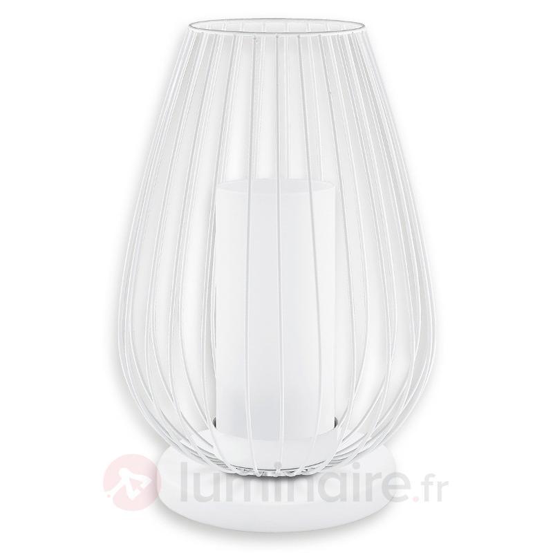Lampe LED à poser en forme de calice Vencino - Lampes à poser LED