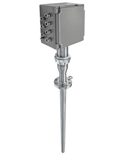 iTHERM TMS11 MultiSens Linear Multipunto - Termometro modulare dritto TC e RTD multipunto con pozzetto primario