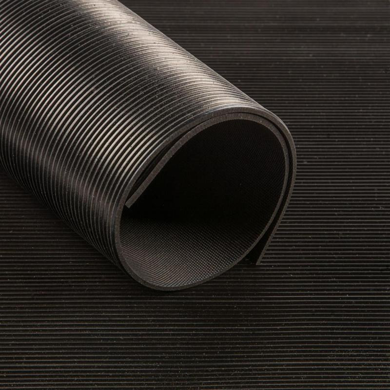 Feinriefenmatte 3mm (180cm breit) - Gummimatten