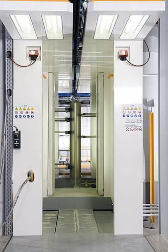 Automatic booths - powder-coating