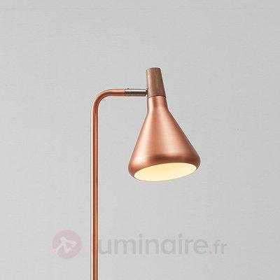 Lampadaire LED Float, couleur cuivre - Lampadaires LED