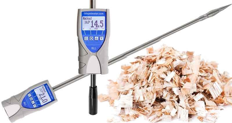 Wood Chip Moisture Meter humimeter BLL