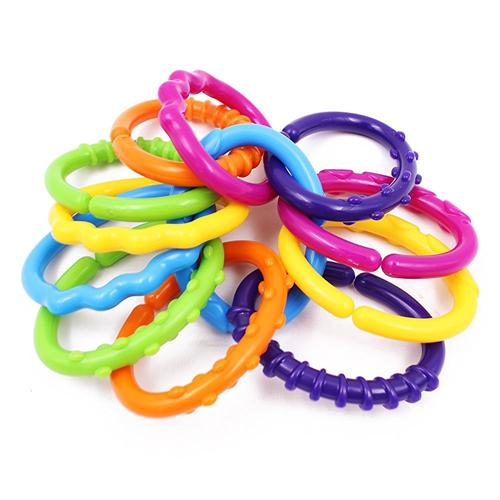 Teether Ring O' Links Rattle - Wishtime Texture Learning Baby Rattle